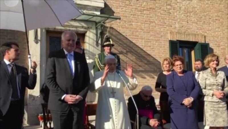 Ansprache Papst Benedikt XVI. Zum 90. Geburtstag